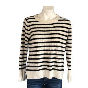 Old navy medium black and cream sweater